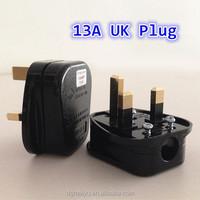 13A UK Plug 3 Flat Pin British Standard Plug with BSI 1363/A approved