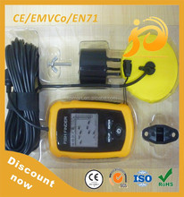 Portable wireless fish finder with LCD display screen factory price
