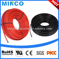 Self-regulating Ultra Thin Heating Cable Under Floor Heating Water System Flat Cable 220v