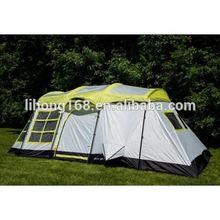2015 productos nuevos tienda individual para acampar al aire libre, lujo tienda de campaña para familia