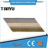 34 degree 75mm umbrella head roofing paper strip nails 2.87mm*60mm