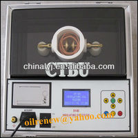 Fully automatic transformer oil tester (oil BDV analyzer)