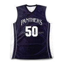 Top sale Sublimated Basketball Uniform Professional 100% Polyester inter lock Basketball Uniforms/European Basketball Jerseys