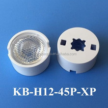 high quality 11.8mm cree XP led lens 45 degree tape available