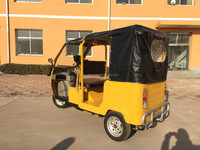 2015 gasoline power/electric tricycle TEB-88 different size e-rickshaw for passenger