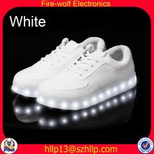 Yiwu china women led flashing shoe supplier china women glow flashing shoe wholesaler