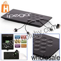 NO MOQ 2014 High-tech ipega Magnetic Induction Charger for iPhone iPod iPad HTC Samsung Blackberry Tablets
