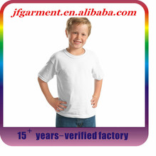 High quality factory cheapest price OEM service custom plain white t shirts for kids