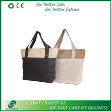 Plain durable promotional jute recycling bag