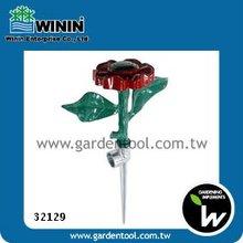 Dancing Flower Lawn Sprinkler With One-Way Metal Spike