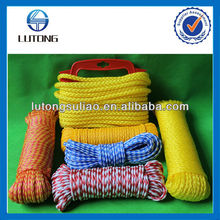 colored pe hollow braided rope,pe braided rope