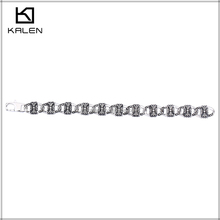 New magnetic kids stainless steel bracelet parts personalized bracelet