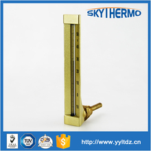 marine wholesale metal protected Industrial glass thermometer