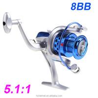Pesca 8BB Ball Bearings ST4000 5.1:1 Seahawk Fishing Reel Left/Right Collapsible Handlle Fishing Spinning Reel Carp Fishing Reel