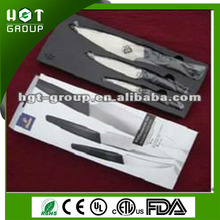 Own painted production line good quality swiss kitchen knife