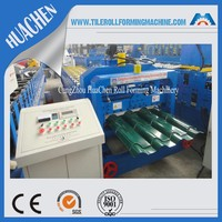 Classic Metal Sheet Glazed Tile Roll Forming Machine, Roofing Sheet Profiling Machine