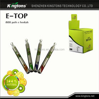 Portable elektro shisha 500puffs, electronic hookah cartomizer for wholesale in China