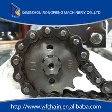 Motorcycle Chian and Galvanized Sprocket 520-Valen