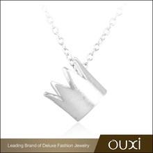 OUXI Unique Design best bitches wholesale 925 sterling famous silver jewelry necklace brand
