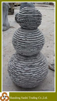 Natural stone ball carving handmade fountain prices