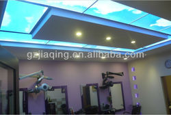 Rectangle shape top ring sky factory LED light