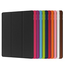 """2016 Newest Ultra Slim Smart PU Leather Case Cover 3 Fold Holder Stand Case Cover For Apple iPad Pro 12.9"""""""