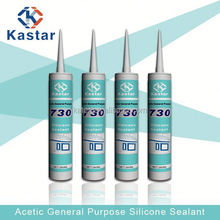Kastar730, acetic silicone, glass to glass silicone