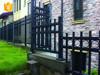 Elegant galvanized garden fence for sale