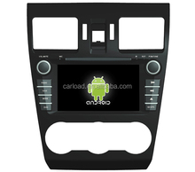 7in in dash android 2 din touch screen car dvd for subaru forester 2014 with GPS, iPOD, TV, RDS, Wifi, 3G, mirror functions