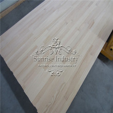 18 mm thickness pine laminated finger joint board E1 GLUE