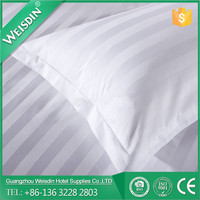 Weisdin chinese wholesales 100% cotton 3cm strip easy pillow case