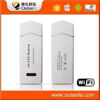 Unlocked 100Mbps Alcatel B20 800MHZ 4G LTE FDD Wireless SIM Card WIFI USB Modem Dongle