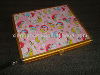 Aluminum case briefcase, hard laptop case XB-IP005
