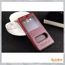 PayPal Acceptable! Stand Leather Case for Samsung GALAXY J1 J100, Flip Cover For Samsung GALAXY J1 Case Leather
