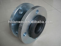Galvanized Rubber Expansion Joint With flange pn16