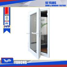 upvc window company triple glass casement window
