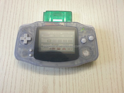 Regular video game console for gameboy advance game