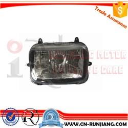 Enduro Street Bike Motorcycle Accessories Square Type Headlight For YAMAHA YBR125