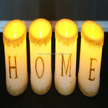 HOME or LOVE Led wax candle light/led light