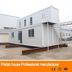 Cost efficient prefab africa container prefabricated houses and villas containers
