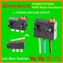 greetech china supplier, 40t85 12vdc waterproof micro switch, micro car