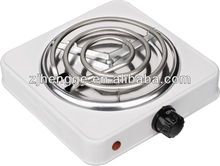 Single hot plate electric stove