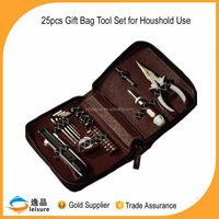 25 pcs Hand Tools Names in Handbag