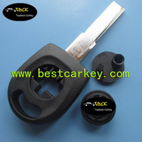 Topbest waterproof key case for vw passat transponder key shell vw key blank