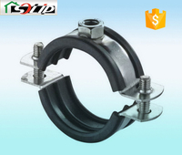 stell rubber galvanized wall cable clamp