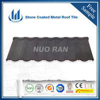 NUORAN50 years warranty natural sand coated roofing tiles/roofing sheets