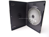 14mm case bluray box dvd plastic case with dvd replication printing
