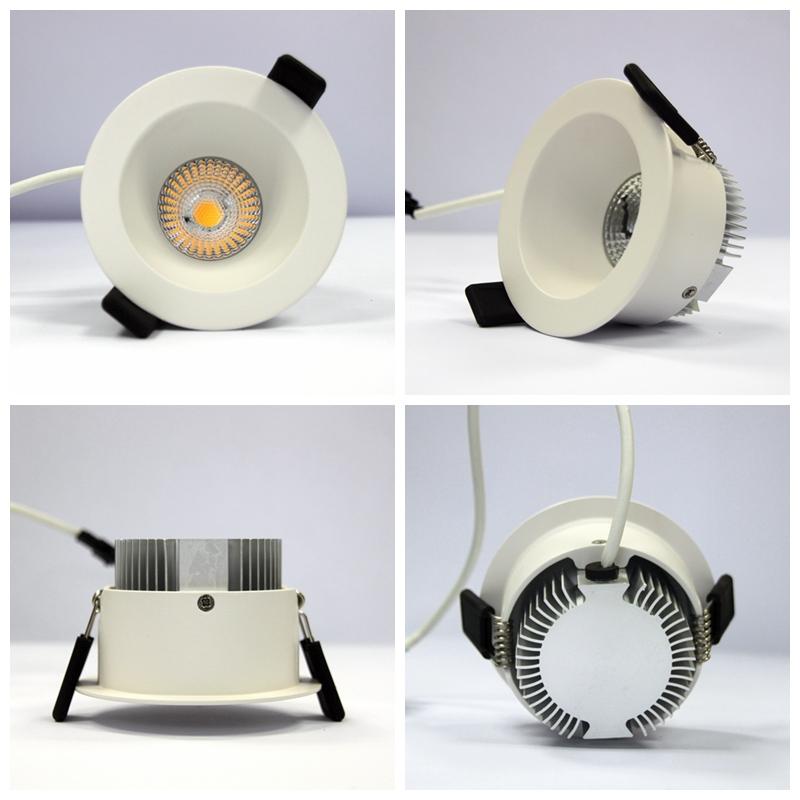 new high quality low power led downlight 8w cob led
