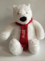 OEM ICTI audited eco-friendly plush toy stuffed large white bear