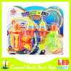 funny plastic light up spinning top toy for kids